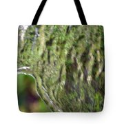 Wall Of Water Abstract Tote Bag