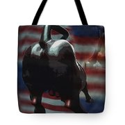 Wall Street Drama Tote Bag