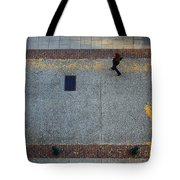 Wall Street Looking Down Tote Bag