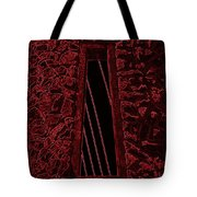 Wall To The Darkside Tote Bag