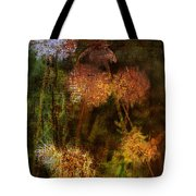 Wallflowers Of Dance  Tote Bag