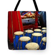 Walrus Drums Tote Bag