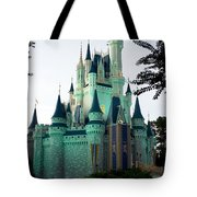 Walt Disney Castle Tote Bag