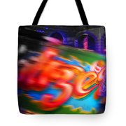 Waltzerblur Tote Bag