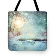Wandering In The Light Tote Bag