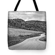 Wandering In West Virginia Monochrome Tote Bag