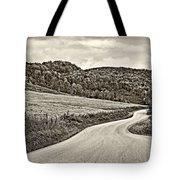 Wandering In West Virginia Sepia Tote Bag