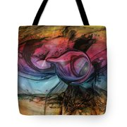 Wandering Star Tote Bag by Linda Sannuti