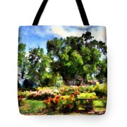 War Memorial Rose Garden  4 Tote Bag