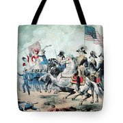 War Of 1812 Battle Of New Orleans 1815 Tote Bag by Photo Researchers