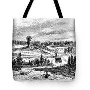 War Of 1812: Bladensburg Tote Bag