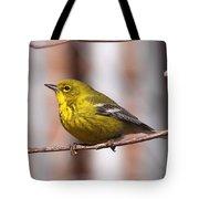 Warbler - Pine Warbler - Oh So Yellow Tote Bag