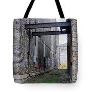 Warehouse Beams And Grafitti Tote Bag