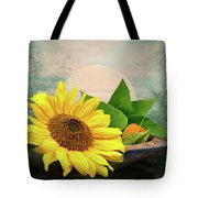Warm Light Tote Bag