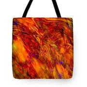 Warmth And Charm - Abstract Art Tote Bag