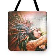 Warrior Dance Tote Bag