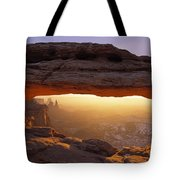 Washer Woman Arch Seen Through Mesa Tote Bag