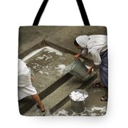 Washing At The Motherhouse Tote Bag