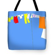 Washing Line Simplified Edition Tote Bag