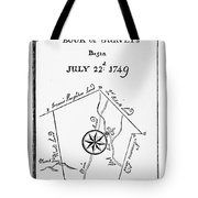 Washington: Book Of Surveys Tote Bag