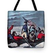 Washington Crossing The Delaware, 1776 Tote Bag