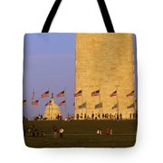 Washington Dc Sunset Tote Bag