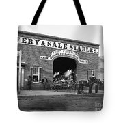 Washington: Stables, 1865 Tote Bag