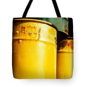 Waste Drums Tote Bag