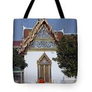 Wat Benchamabophit Monks Residence Dthb187 Tote Bag