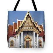 Wat Benchamabophit Ubosot Dthb180 Tote Bag