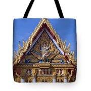 Wat Chai Mongkol Ubosot Gable Dthu609 Tote Bag