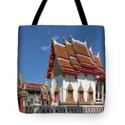 Wat Huai Phai Ubosot And Compound Dthu096 Tote Bag