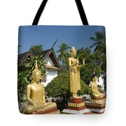 Wat Mai Buddhas Tote Bag