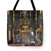 Wat Ratcha Orasaram Ubosot Interior Dthb859 Tote Bag
