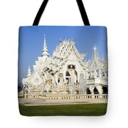 Wat Rong Khun Tote Bag