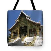 Wat Sen Dragons Tote Bag