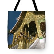 Wat Sen Naga Heads Tote Bag