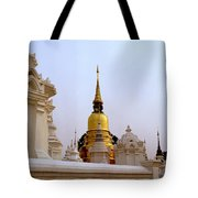 Wat Suan Dok Royal Cemetery  Tote Bag