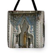 Wat Suan Phlu Ubosot East Portico Dthb1133 Tote Bag