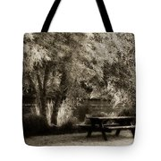 Watch A While Tote Bag