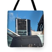 Watch Over The Cityt Tote Bag