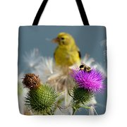 Watchful Eye - Cropped Tote Bag