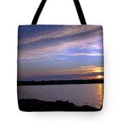 Watchin The Sun Set Tote Bag
