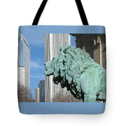 Watching Chicago Tote Bag