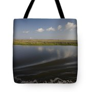 Water And Marsh In Plaquemines Parish Tote Bag