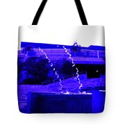 Water Art In Purple Tote Bag