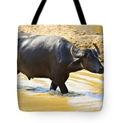 Water Buffalo Tote Bag