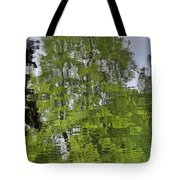 Water Color Reflections Tote Bag