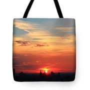 Water Color Sky Tote Bag