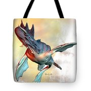 Water Dragon Tote Bag by Bob Orsillo
